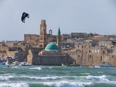 Kitesurfing Akko