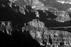 North Rim<br /> Grand Canyon Sunrise 3 bw