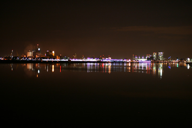 London from Docklands