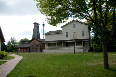 The Herbert H. Dow Historical Museum is a replica of the original Grist mill, known as the Evens Flour mill. It highlights the life of Herbert Dow and his contributions to science and philanthropy.
