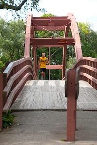 The big attraction in Midland is the famous Tridge. Located beside the Midland farmers market, it has become an icon of the city and is the most famous landmark of the downtown area.