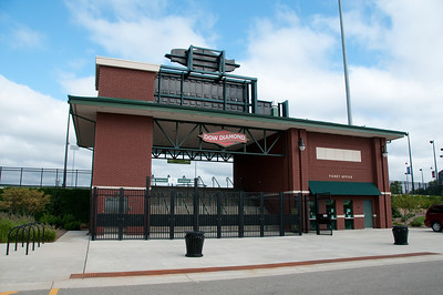 Being a baseball fan and a Dodger fan at than, a trip to Midland would not have been complete without visiting Dow Diamond field. A Single-A Minor League Baseball affiliate of the Los Angeles Dodgers.