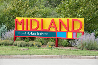 "Every town has a ""welcome"" sign. Midland was no different."