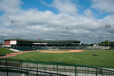 Dow Diamond is the home of the Great Lakes Loons.