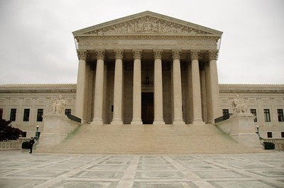 """My first view of the Supreme Court. Bill's """"contacts"""" arrange for us to get a private tour of the Supreme Court. It was by far the best tour we took."""
