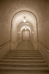 One of the endless corridors in the SC building.