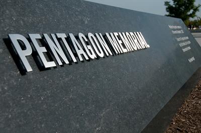 Pentagon Memorial entrance