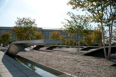 Another view of the Pentagon Memorial.