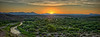 Landscape, Gila River, Three Way