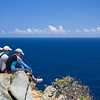 Eric, John, Dan<br /> Ram Head Point overlook<br /> <br /> St. John, USVI<br /> March 2013