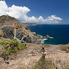 looking toward Drunk Bay from Ram Head Point<br /> <br /> St. John, USVI<br /> March 2013