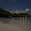 Cinnamon Bay by night<br /> <br /> St. John, USVI<br /> March 2013