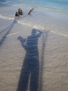 self portrait in water  St. John, USVI March 2013