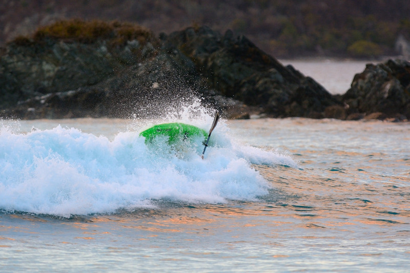 Sometimes you get the wave and sometimes the wave gets you<br /> Cinnamon Cay<br /> <br /> St. John, USVI<br /> March 2013