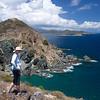 Elaine, Ram Head Point<br /> Drunk Bay in the background<br /> <br /> St. John, USVI<br /> March 2013