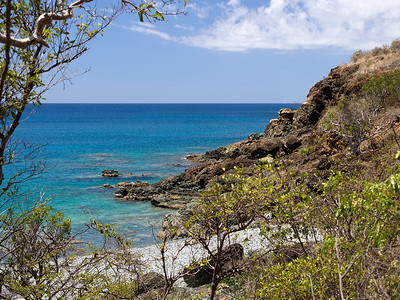 Carribean Sea Ram Head Trail  St. John, USVI March 2013