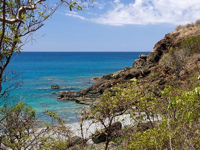 Carribean Sea Ram Head Trail  St. John, USVI March 2013