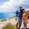Joe & Nancy atop Ram Head Point<br /> <br /> St. John, USVI<br /> March 2013
