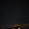 Big Dipper above our cabin