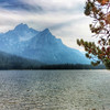 Lake Stanley in the Sawtooths