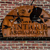 """Antique Archaeology"" sign"