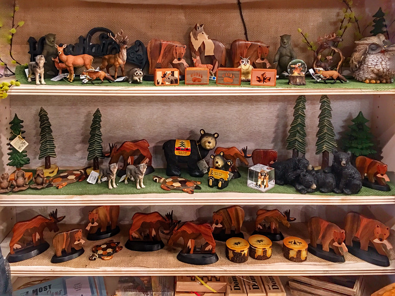 Gift Shop at White Pine Forest State Park
