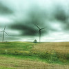 wind turbines in western Iowa