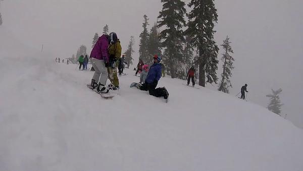 2017-01-20 Lake Tahoe Snowboarding