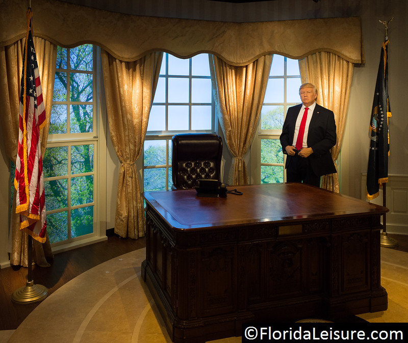 Madame Tussauds Orlando, Orlando, 19th January 2017 (Photographer: Nigel G Worrall)
