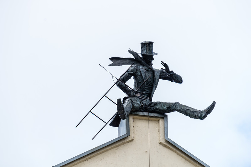 Chimney Sweep Sculpture