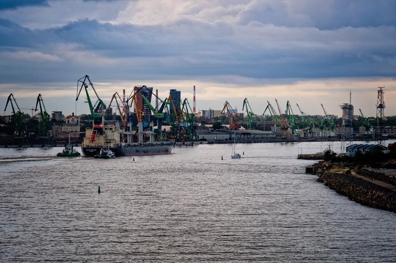 Klaipeda,  Lithuania - foremost maritime port on Eastern Baltic