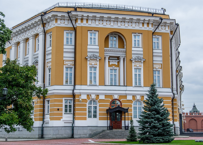 Putin's Kremlin Office - He did not invite us in.