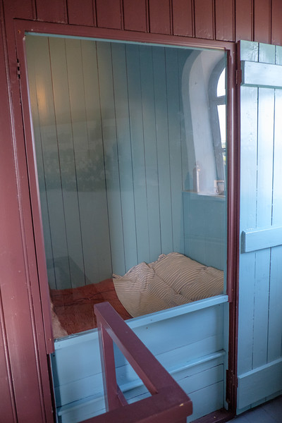 One of the beds used by the family.