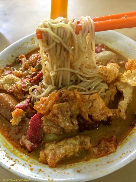 Curry Laksa at Kedai Makanan Lee