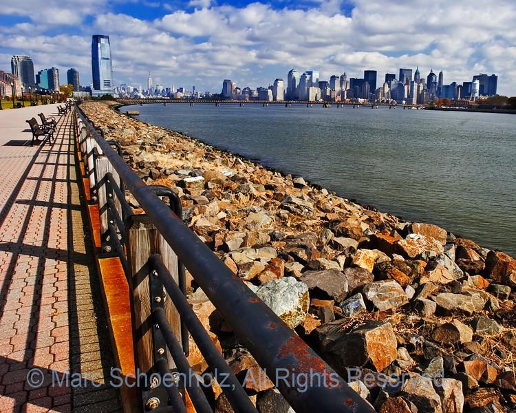 NJ_NY Skyline and Statue