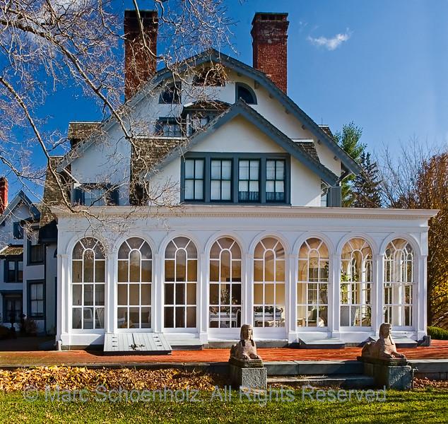 Ringwood Manor, Photographed at: Ringwood State Park, Ringwood, NJ. October, 2006  ©2007 Marc Schoenholz
