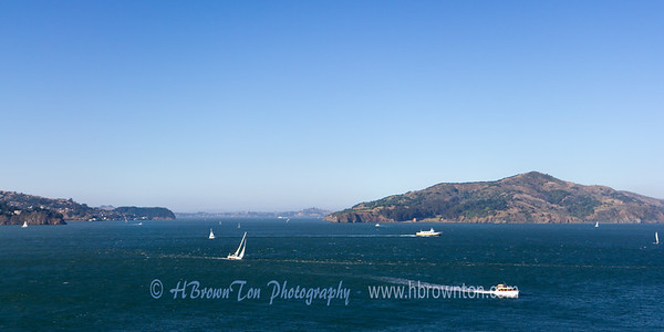 View of San Francisco Bay from nearby Sausalito