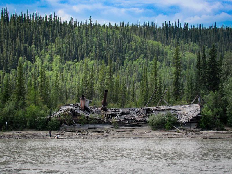 River boat graveyard
