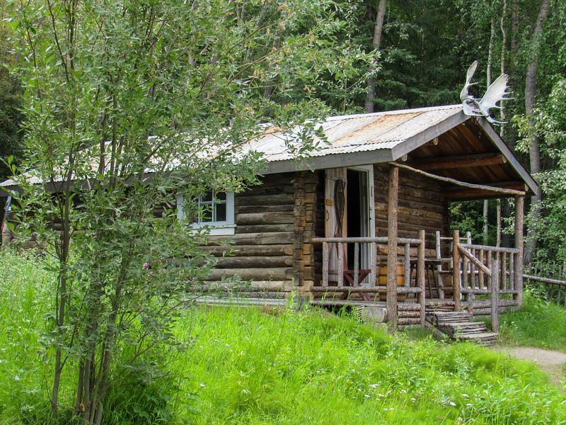 Cabin of author Robert Service in Dawson City
