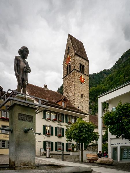 Historic church in Interlaken