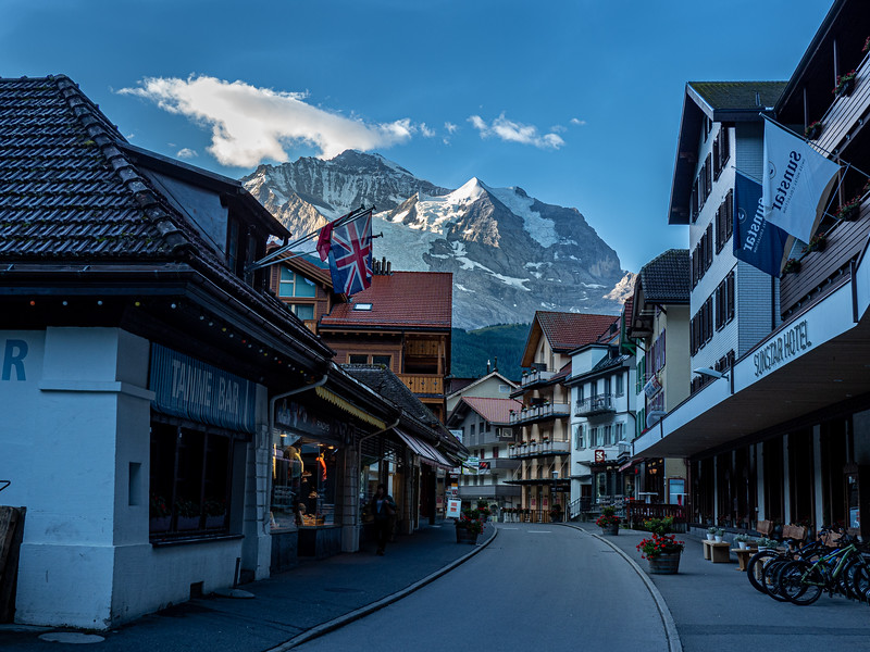 Wengen early morning