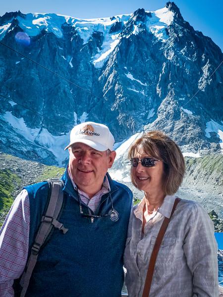 David & Angie at Chamonix