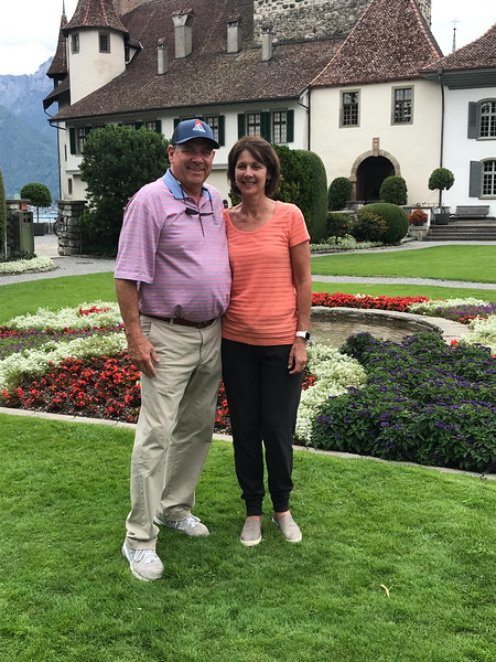 David & Angie after short hike in Spiez
