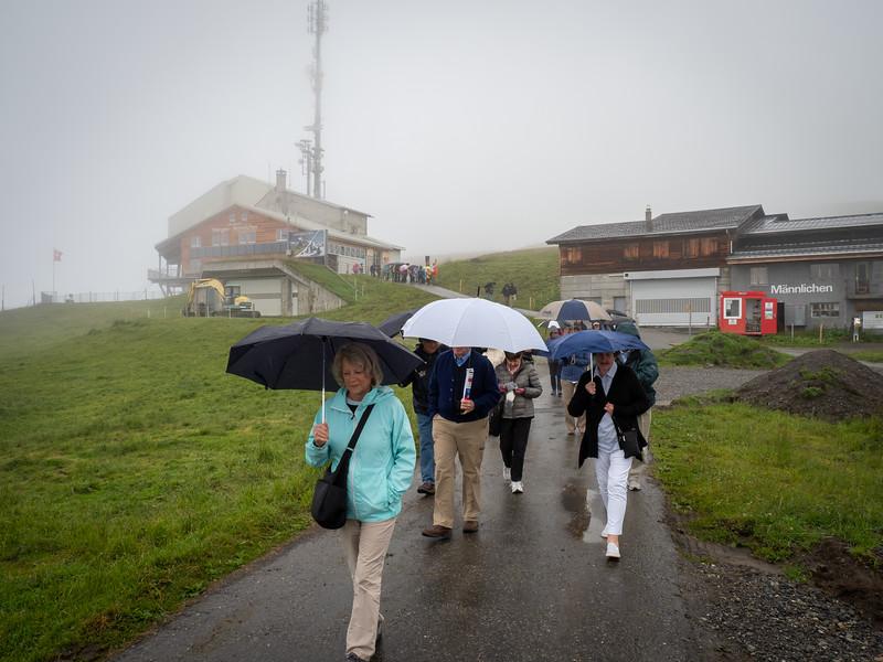 Hiking from Mannlichen to  Kleine Scheidegg