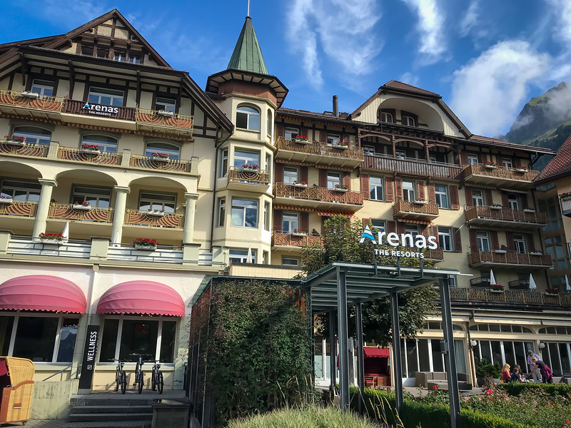 Our hotel in Wengen