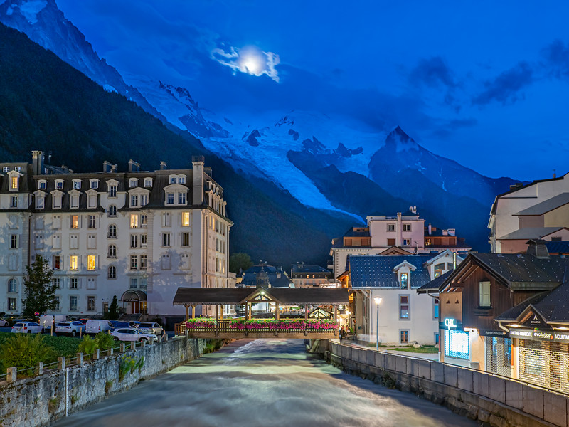 First night in Chamonix