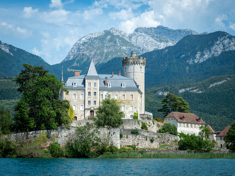 Castle on Lac d'Annecy