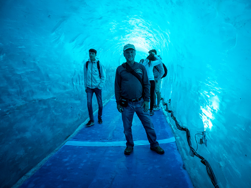 Exploring Grotte de Glace (cave of ice)