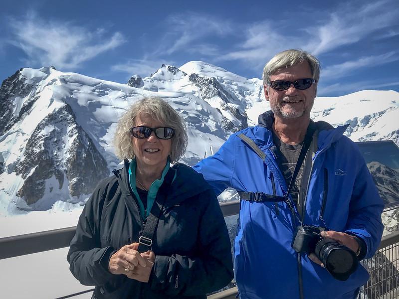 Aiguille du Midi on Mont Blanc at 12,602 feet