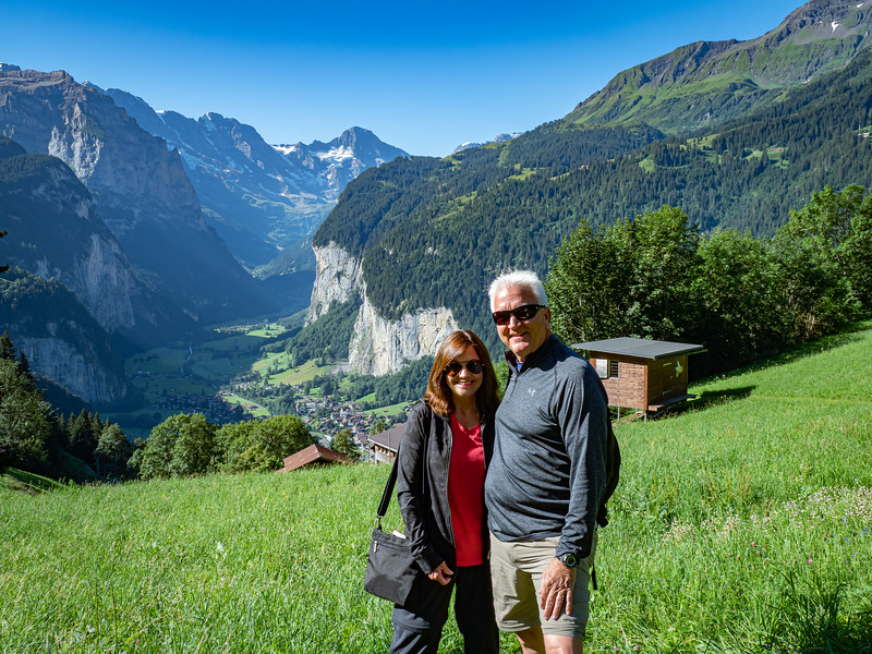 Tina & Eddie at Lauterbrunnen Valley
